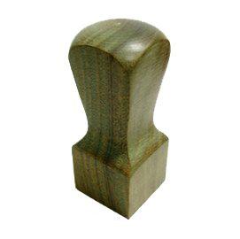 頂級天然綠(玉)檀木八分公司章-肚臍章
