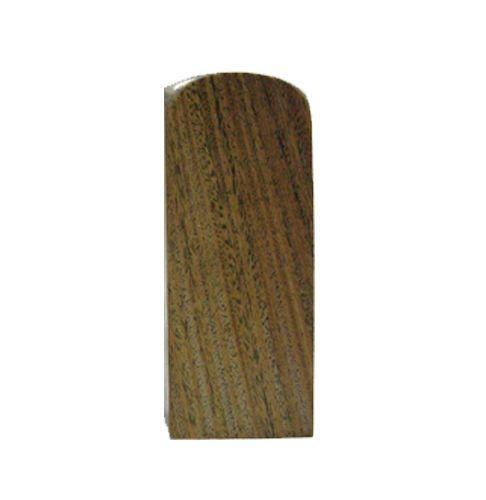 頂級天然綠(玉)檀木一寸公司章-印鑑
